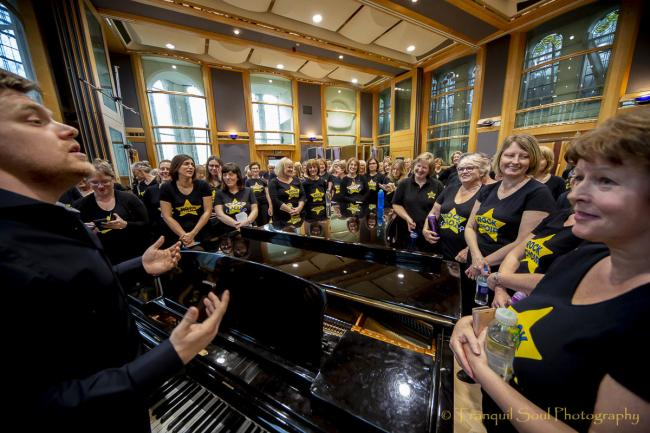 Rock Choir, image by Tony Bell