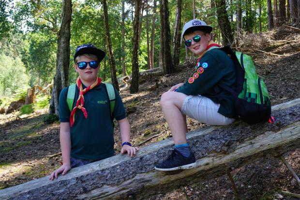 SCOUT AND ABOUT: Visiting a place dear to all Scouts' hearts