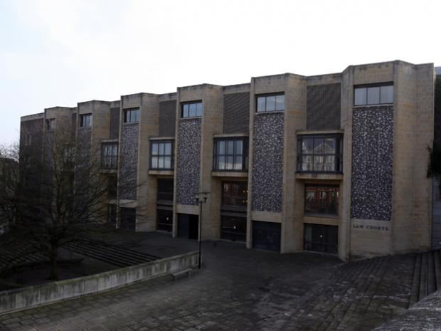 Winchester law Courts: temporary home for magistrates