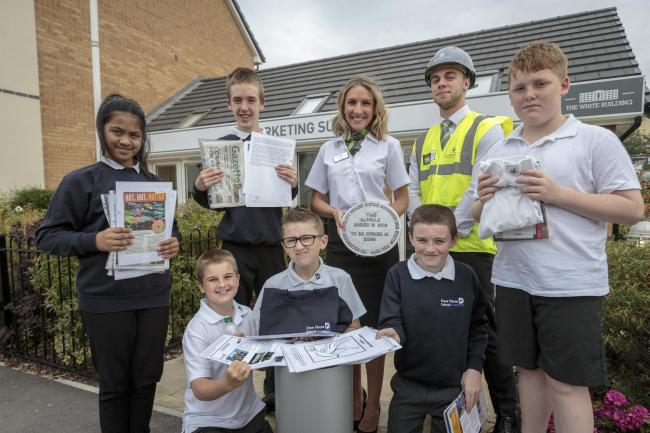 Barratt Homes time capsule at Chapel Gate - 9/7/19