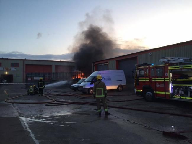 Image from Tadley Fire Station