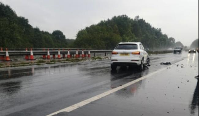 Car accident near M3/ A303 junction - live updates
