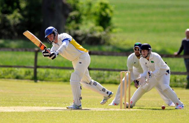 Jack Dancer bats for Whitchurch