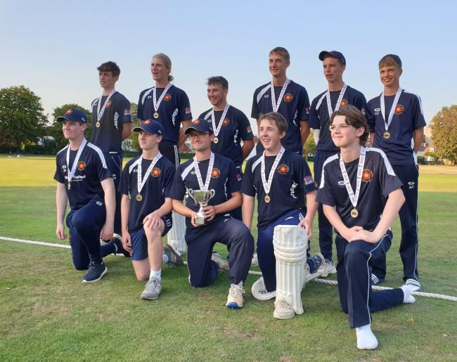 Hook under-19s Hampshire T20 champions
