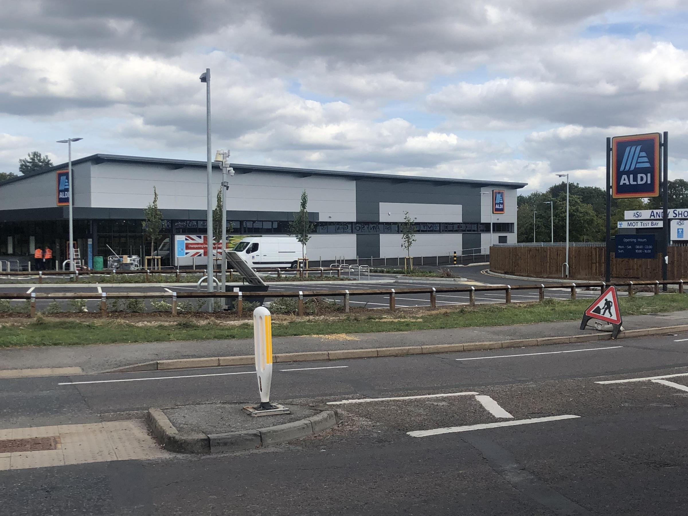 Winklebury Aldi opens its doors next week | Basingstoke Gazette