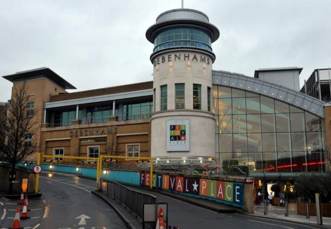 Non-essential retail in Festival Place will open from April 12