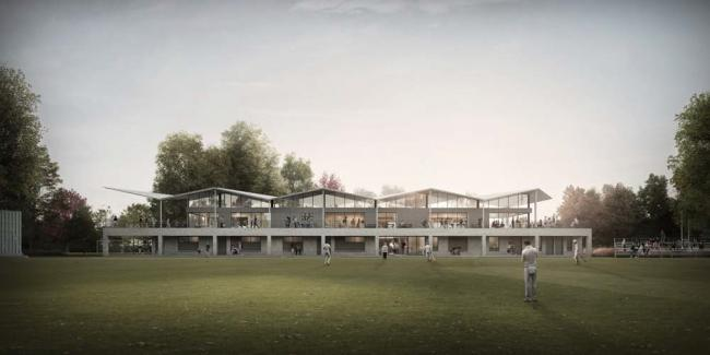 Artist impression of how the pavilion may look