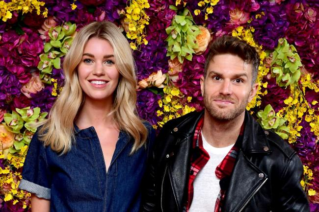 Hannah Cooper and Joel Dommett