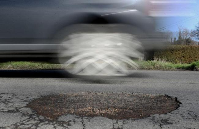 Potholes are causing misery across Hampshire