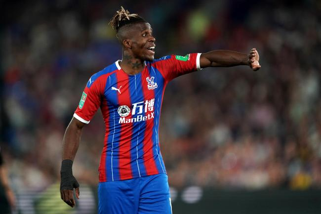 Crystal Palace forward Wilfried Zaha has again been subjected to online racist abuse.