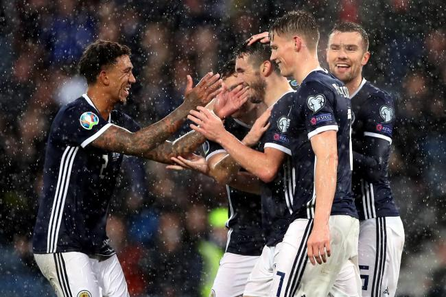 Smiles returned to the Scotland players at Hampden
