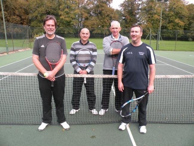 Left to right Mike Prince, Gerry Niktopolous, Chris Pearce and Chris Procter