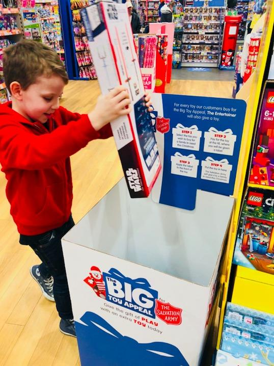 The Big Toy Appeal will run from November 1 to November 16