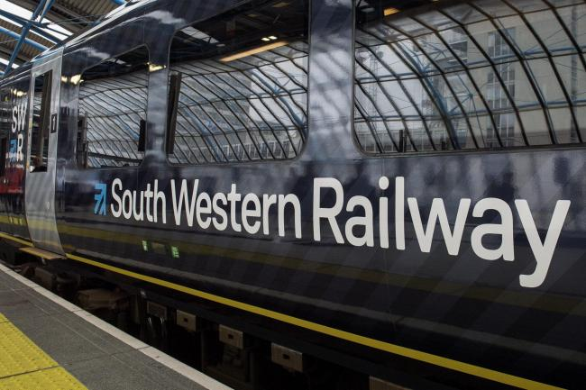 South Western Railway. Photo credit: Victoria Jones/PA Wire.