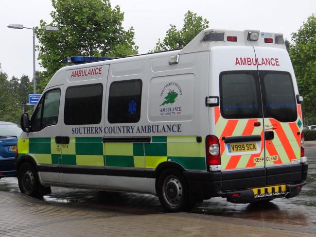 Suspended:  Southern Country Ambulance Service was found unsafe