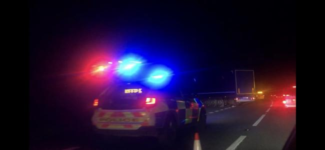 Tailbacks on A303 due to police incident