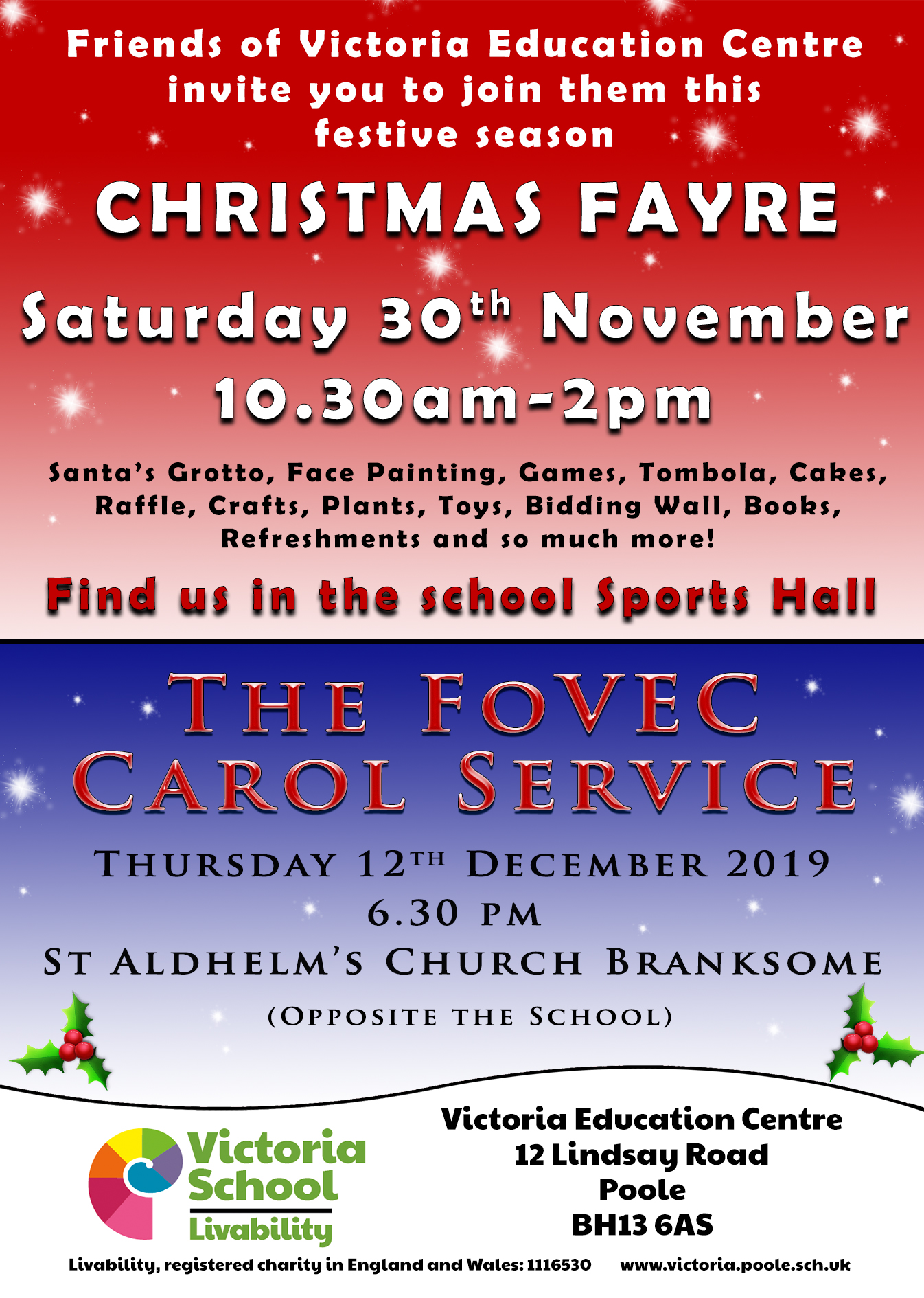 Victoria Education Centre Christmas Fayre