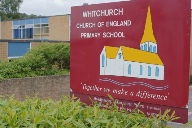Pictured: Whitchurch Church of England Primary School