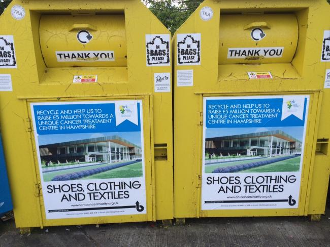 Out with the old: Getting rid of unwanted clothes will help raise funds