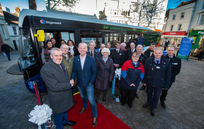 Stagecoach launches new environmentally friendly buses in Basingstoke