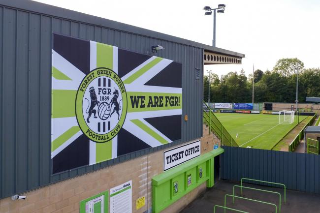 Forest Green Rovers have acted swiftly in dealing with an incident of racist abuse during their game with Scunthorpe