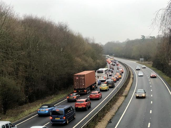 Delays on the A34 near Whitchurch have been reported
