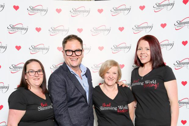 Tv host and comedian, Alan Carr, hosts the 2020 Slimming World Awards.