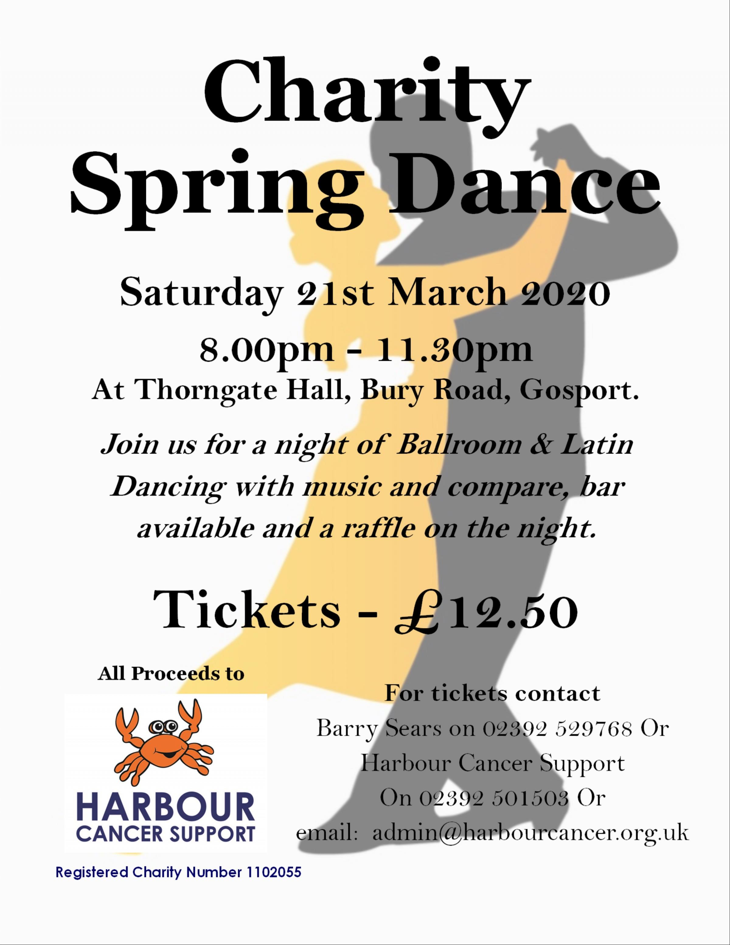Charity Spring Dance