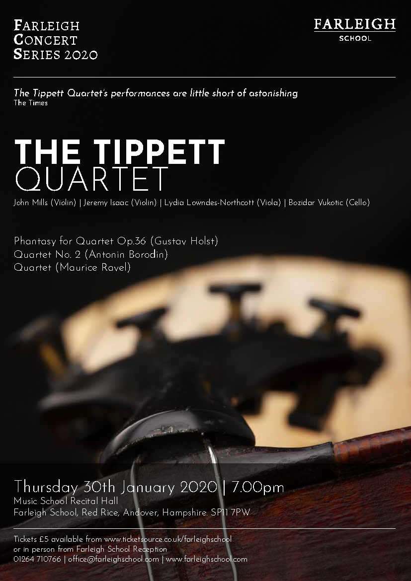 The Tippett Quartet