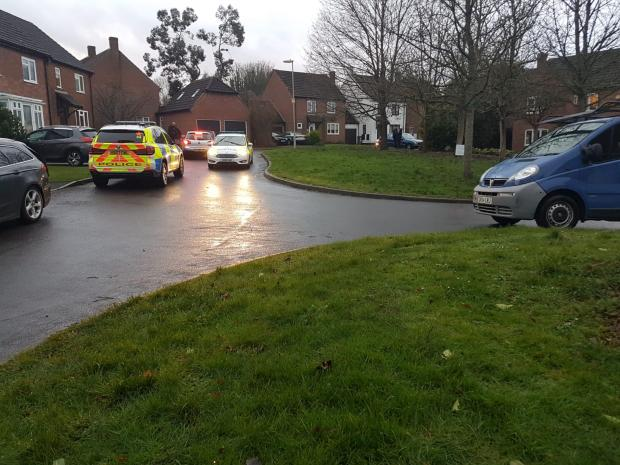 Basingstoke Gazette: One dog unit, one armed response unit and two police vehicles attended the scene at 2.40pm.