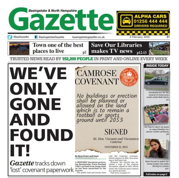 Basingstoke Gazette: