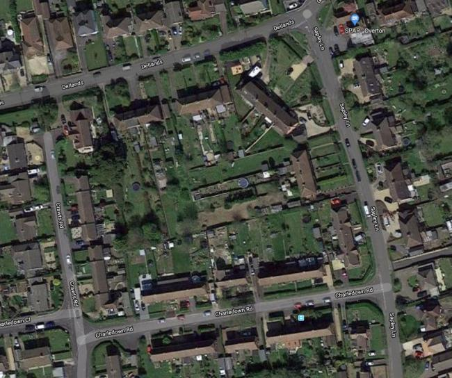 The plans would have seen six home built in the rear gardens of three properties in Dellands, Overton