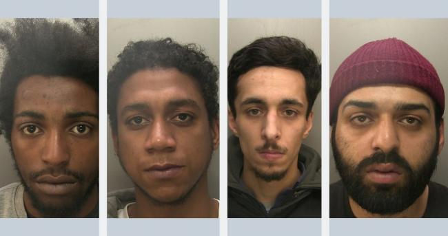 Salim Seif, Hood Hood, Hanfi Tunc and Mohammed Mir were sentenced at Winchester Crown Court last week