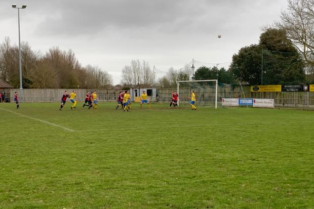 Action between Whitchurch and New Milton