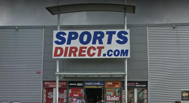 Sports Direct, Clydebank (Image: Google)