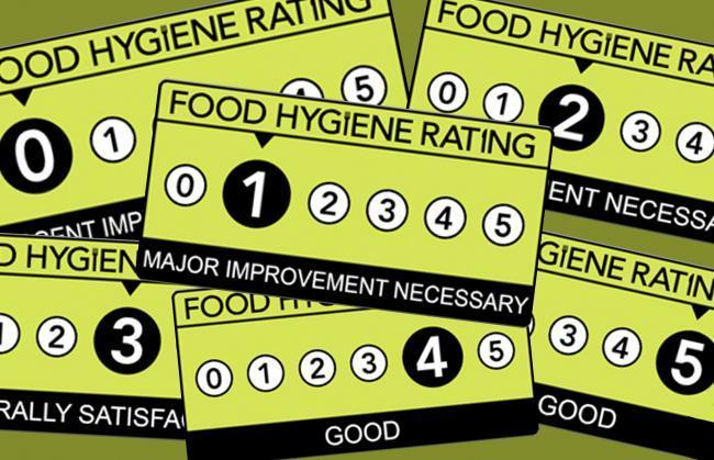 Food hygiene rating inspections in Basingstoke and Deane and Hart.
