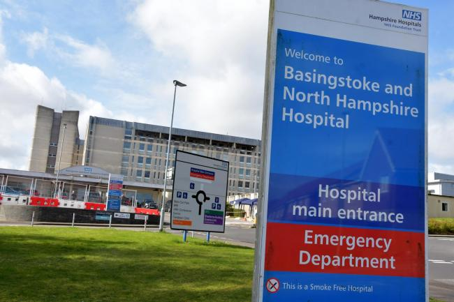 Basingstoke hospital is part of the national Recovery trial (Photo: Sean Dillow)