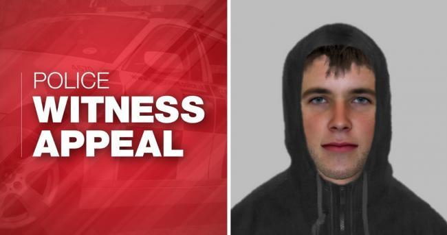Police have issued a public appeal after sharing an e-fit of a man