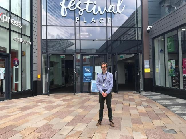 Centre director of Festival Place, Neil Churchill