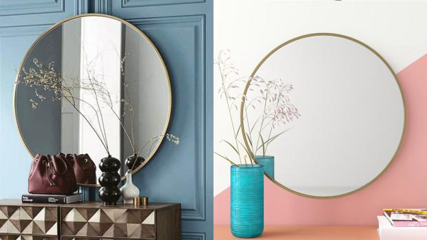Basingstoke Gazette: A bigger, more modern mirror will create the illusion of more space. Credit: Wayfair