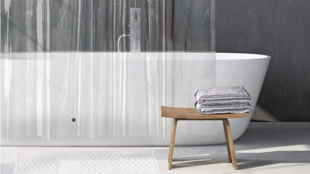 Basingstoke Gazette: A clean shower liner will make your bathroom much more welcoming. Credit: Amazon
