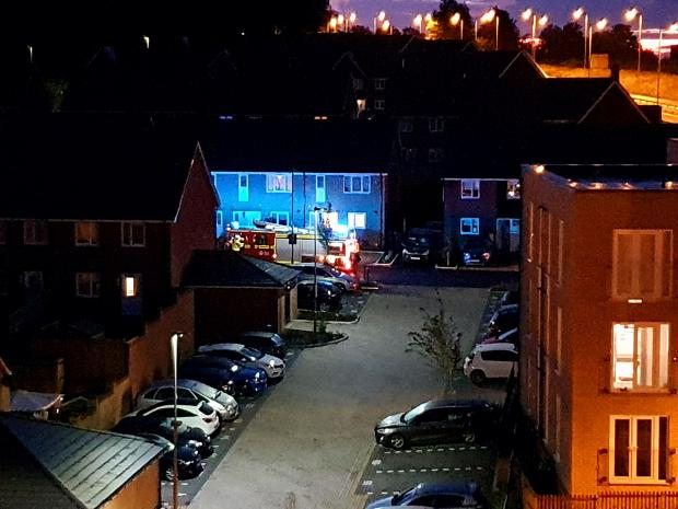 Basingstoke Gazette: The incident is being treated as arson