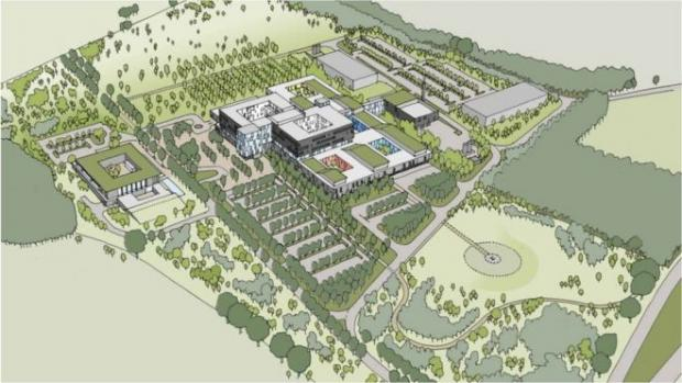 Basingstoke Gazette: Plans to build a £336m hospital next to the M3 were scrapped by NHS England in 2017