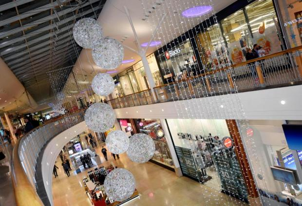 Basingstoke Gazette: Festival Place in Basingstoke is a popular haunt for shoppers