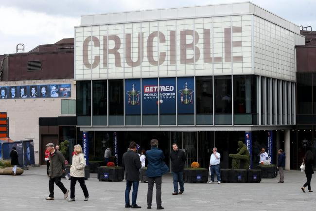 Snooker's rescheduled World Championship started on Friday in Sheffield