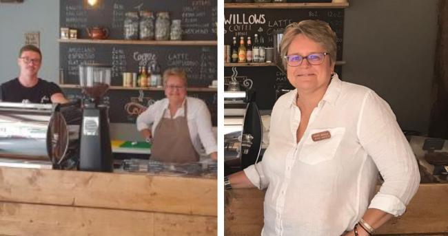 Owner, Mary Stevens welcomed 300 people to her dog friendly cafe on Church Street