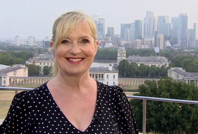 BBC Breakfast presenter Carol Kirkwood surprises viewers with 'doggers' slip-up. Picture: BBC Breakfast