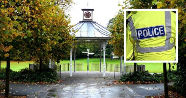 A man has hailed a female police officer for saving him Saturday night outside War Memorial Park in Basingstoke