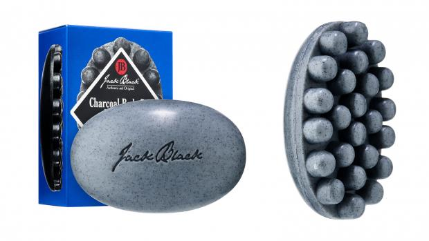 Basingstoke Gazette: Exfoliate your body with the Jack Black Charcoal Body Bar Massaging Soap. Credit: Jack Black