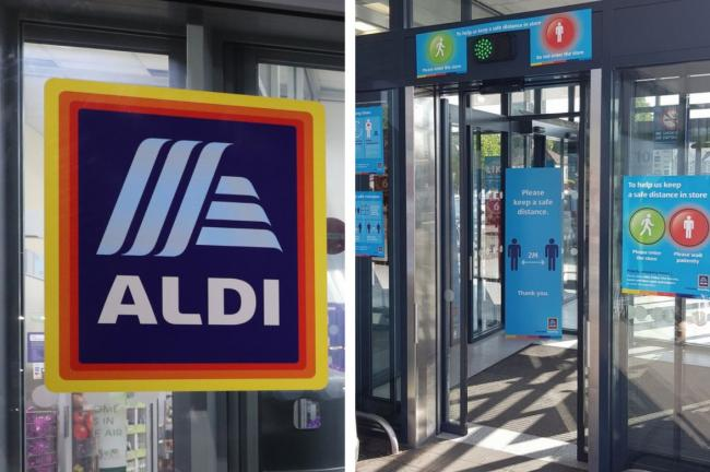 Aldi explain why their traffic-light entry system is changing for shoppers. Pictures: PA Wire/Aldi/Newsquest